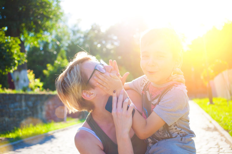 The UnHuggable Boy: 5 Ways to Connect with Your Frustrating Son www.herviewfromhome.com