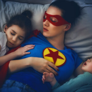 Expecting Judgement. Finding Community. Bedtime Battles Unite us All.