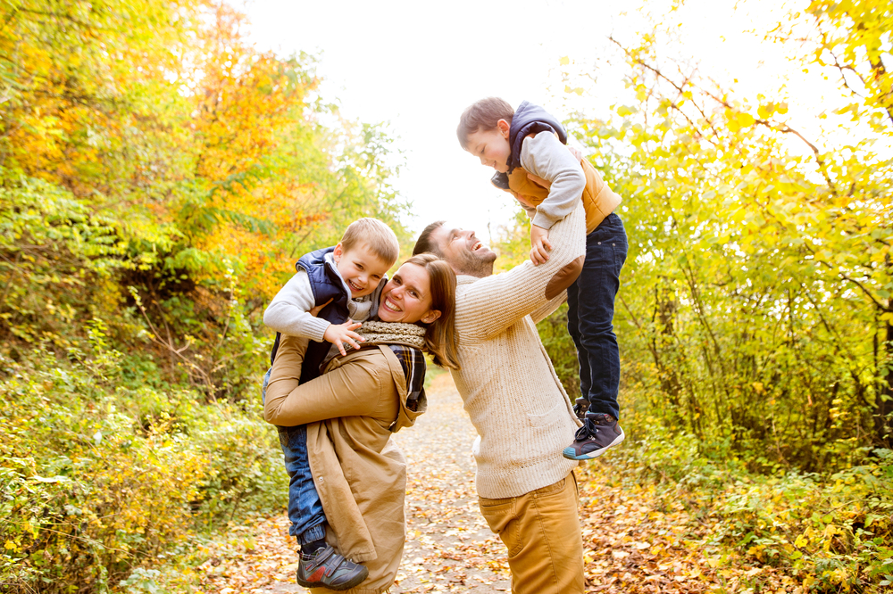 My Angelic Family Pictures Aren't the Whole Story, but I'm Posting Them Anyway www.herviewfromhome.com