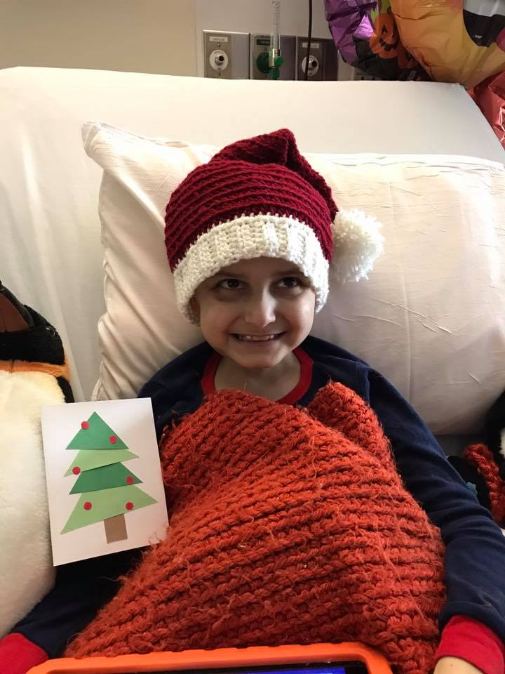 9 year old cancer patient requests cards for his last christmas