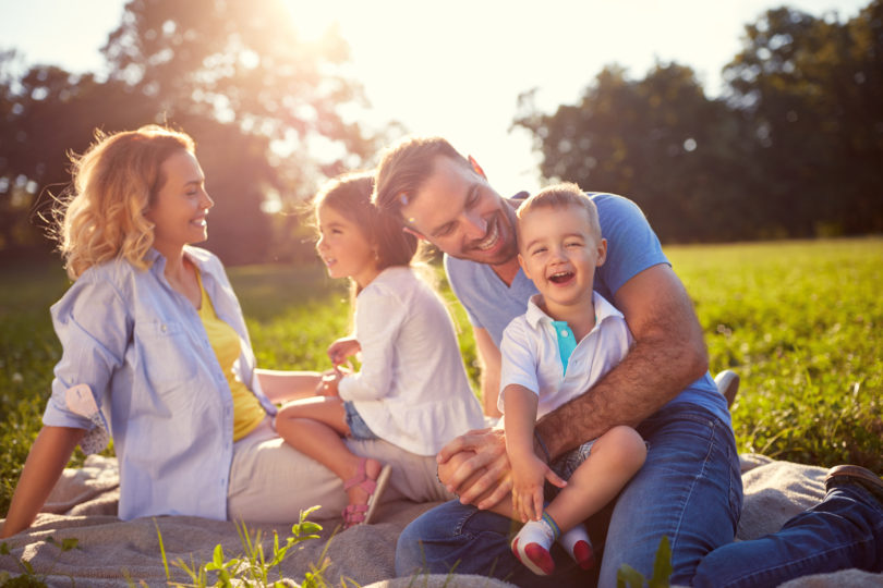 Can We Please Be Done With the Myth of the Perfect Family? www.herviewfromhome.com