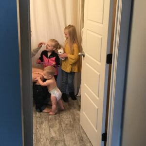 Pooping Alone, and Other Things Moms Aren't Allowed to do Without an Audience