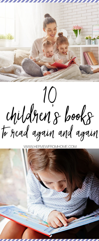I love books and I love reading out loud to my kids. All three of them genuinely enjoy being read to, and I'll do anything I can to encourage their interest in books—even if that means reading the same book again and again