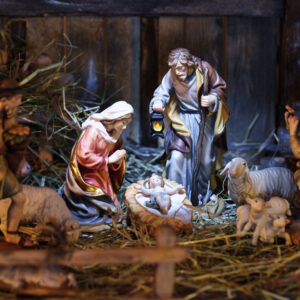 Not So Far Away in a Manger