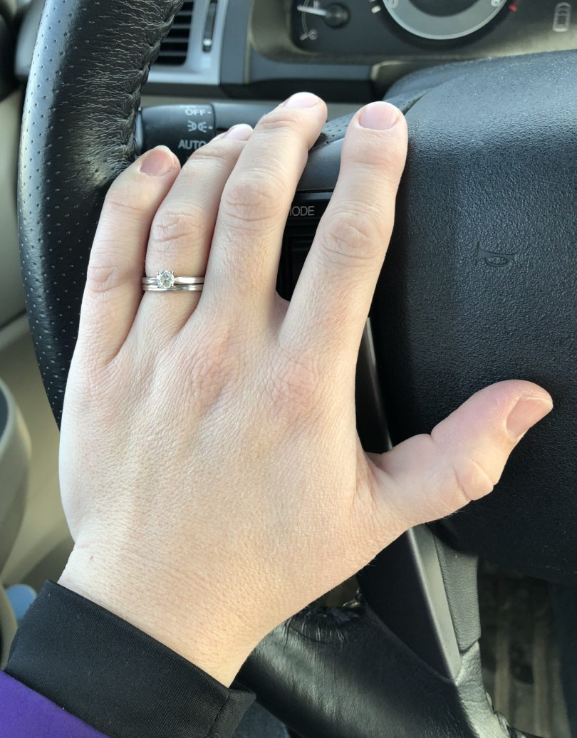 I Still Love My Engagement Ring, After All These Years www.herviewfromhome.com
