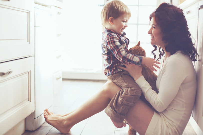 God Doesn't Need Us To Be Perfect Mothers www.herviewfromhome.com