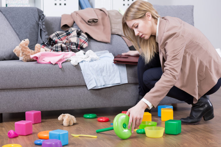 This is Your Mom Brain on Clutter www.herviewfromhome.com