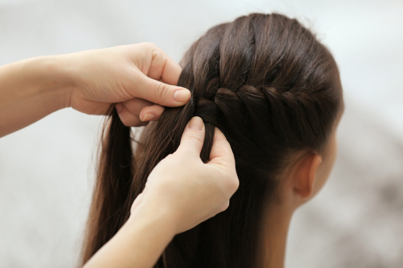 Loving and Letting Go With One Final Braid www.herviewfromhome.com