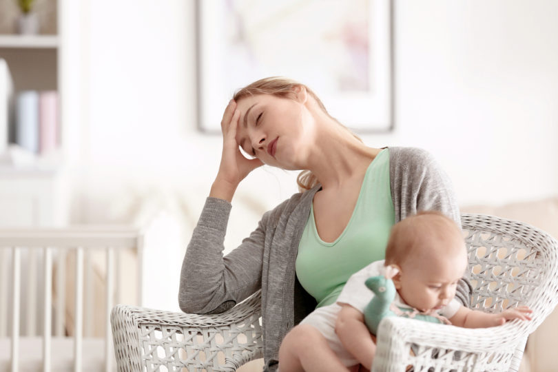 To the Mama Who Didn't Accomplish Anything Today www.herviewfromhome.com