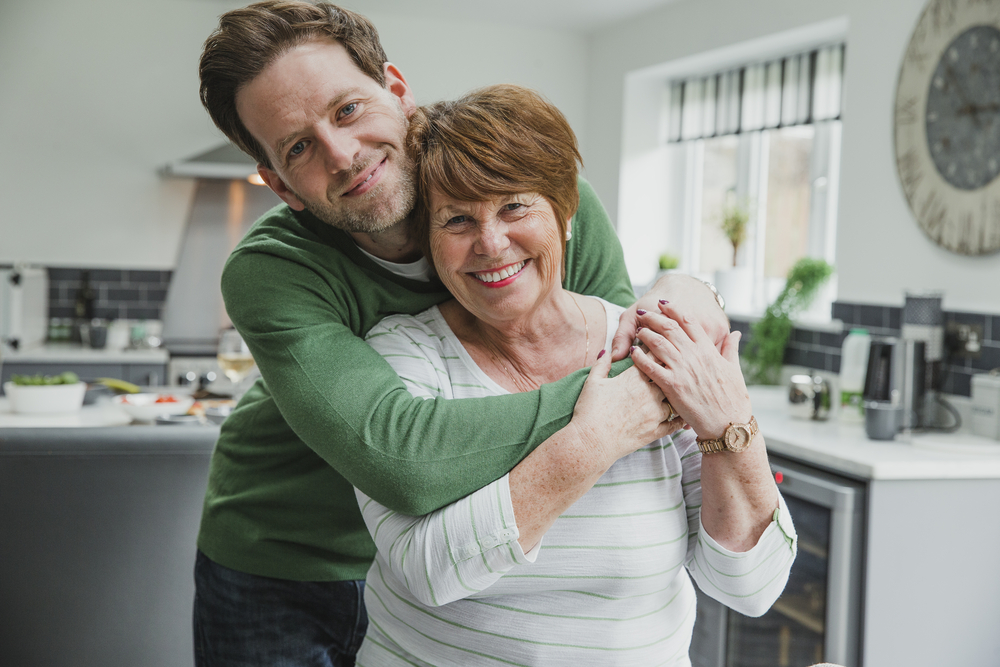When a Man Loves His Mama www.herviewfromhome.com
