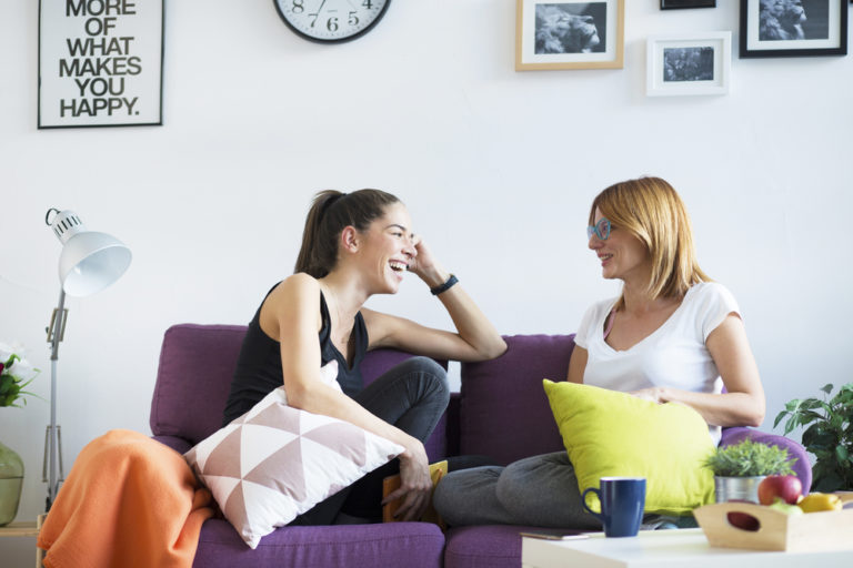 Stop Apologizing For the Mess and Invite Your Friends Over, Mom www.herviewfromhome.com