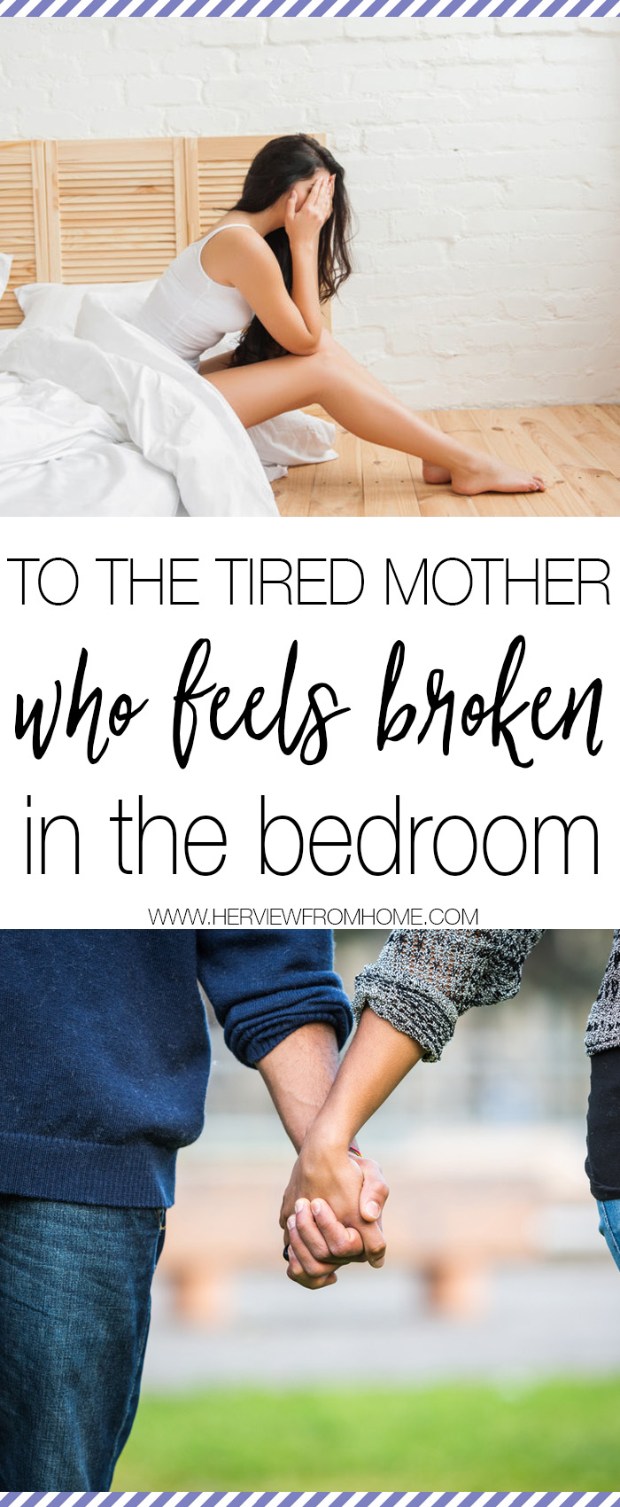 Momma, you aren't broken. This piece of you is simply sleeping, don't give up. Awaken her with God's help.