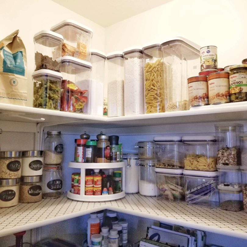 Organize Your Pantry in 10 Easy Steps www.herviewfromhome.com