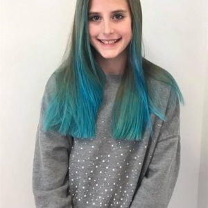 I Pick My Battles With My Tween So She Has Blue Hair
