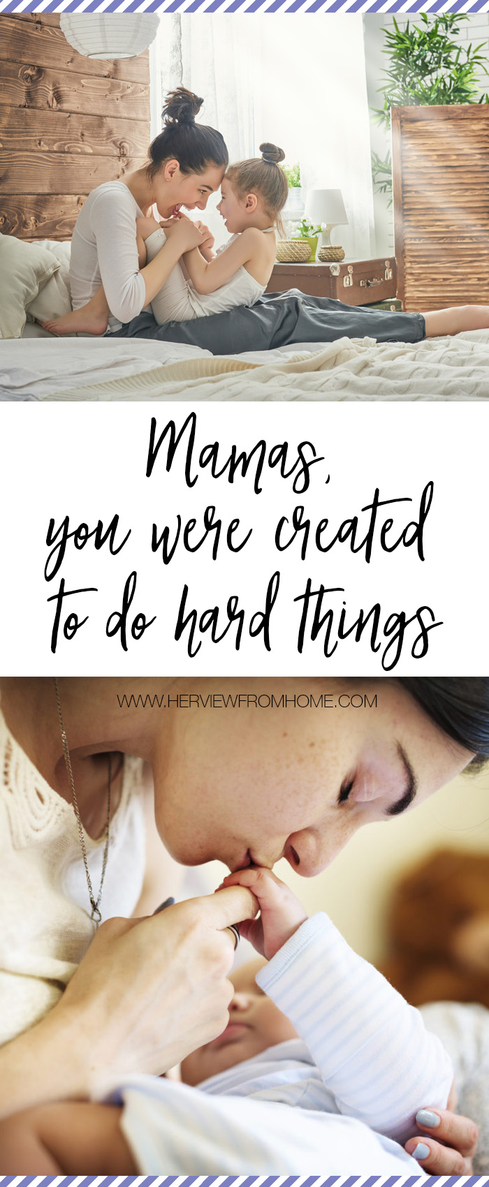 Even in our long days and even longer nights, in the sandwich making and tiny finger nail clipping, and yes even in the tantrums and crying and bottle washing, this is what we were made for.