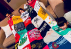 After Their Dad Died, Kids Repurpose His Old T-shirts In the Sweetest Way www.herviewfromhome.com