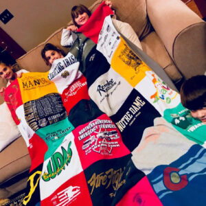 After Their Dad Died, Kids Repurpose His Old T-shirts In the Sweetest Way