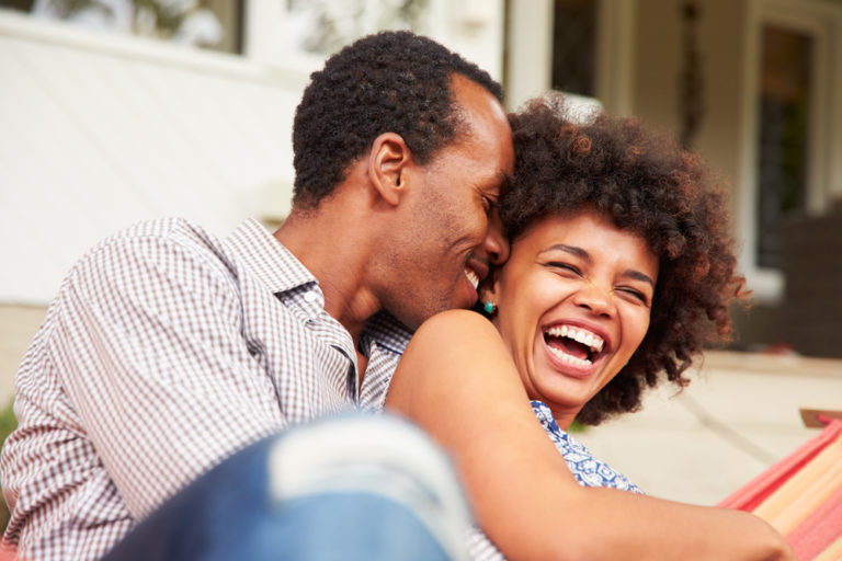 Want to Overcome Discouragement in Marriage? Laugh Together More. www.herviewfromhome.com
