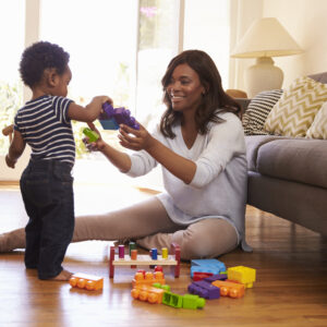 Tidy Moms Raise Happy Kids, Too