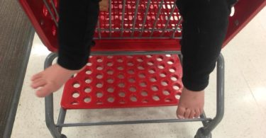 Dear Concerned Shoppers at Target, My Kid is Barefoot and He's Fine www.herviewfromhome.com