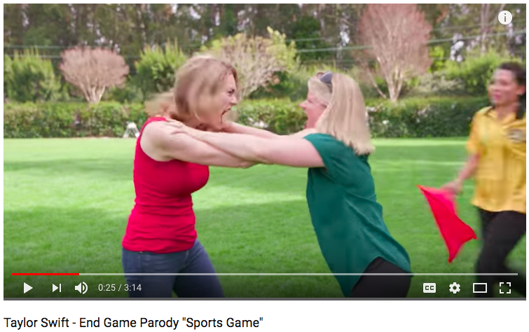 Kids should enjoy playing sports, but as this funny video parody shows, some parents take the level of competition a little too far.