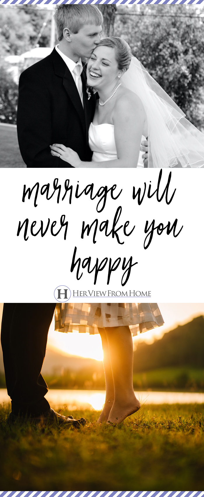 Society tells us marriage is meant to serve you, but society has it exactly backwards . . . because marriage isn't at all about you.