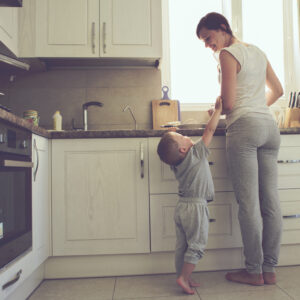 Why I Stay Home Even Though It's Exhausting