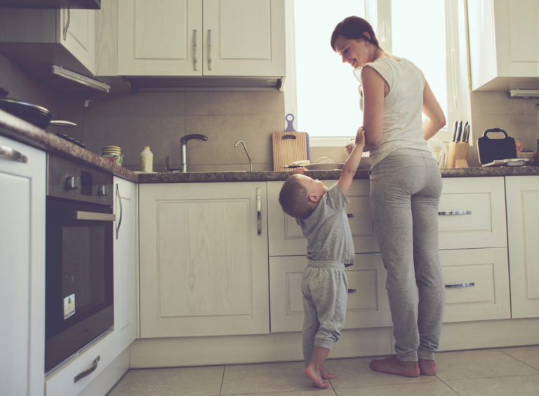 Why I Stay Home Even Though It's Exhausting www.herviewfromhome.com