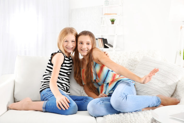 What It's Really Like to Live in a House With Teen Girls www.herviewfromhome.com