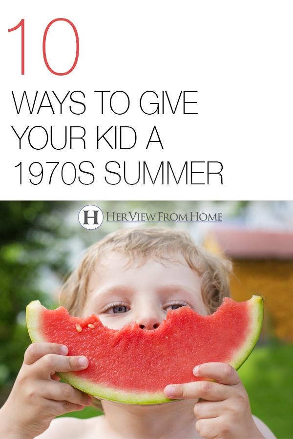#summer #1970s #kids #summerbreak