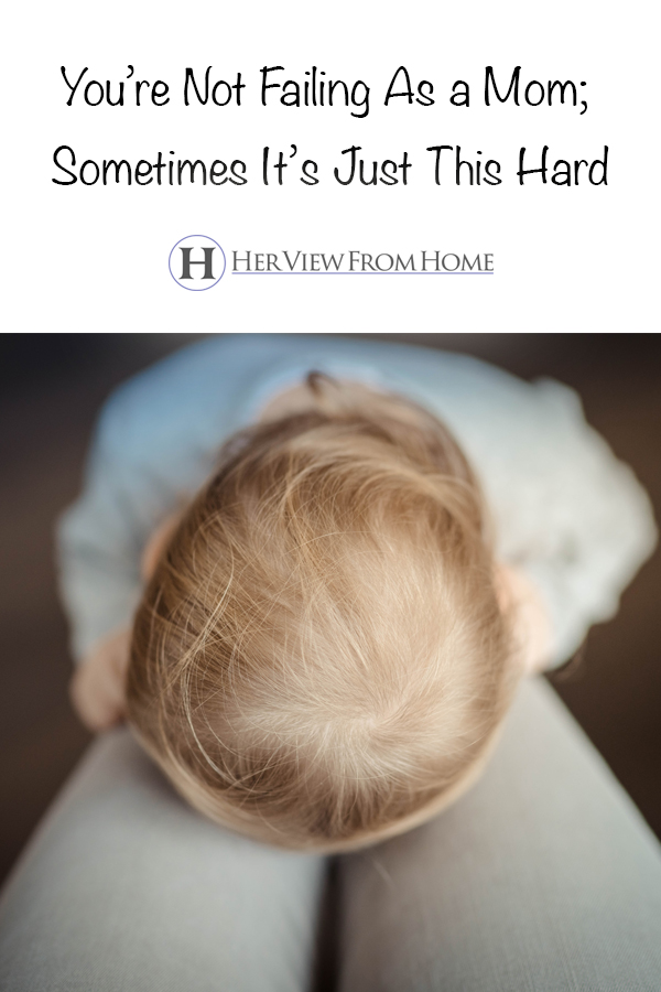 So hang in there, mama. We both know—it's all worth it.  #parenting #tired