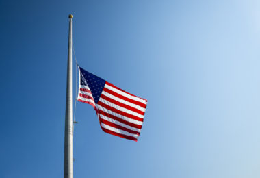 """Mommy, Why's The Flag Still At Half-mast?"" www.herviewfromhome.com"