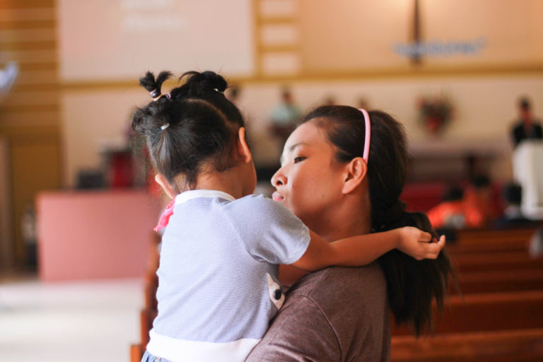 To the Single Mom Who Feels Forgotten At Church www.herviewfromhome.com