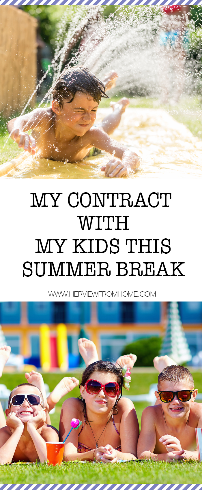 I will accept a dip in the pool is as good as a shower, S'mores for dinner is perfectly reasonable and having friends over is more important than worrying what they'll think of my dirty house. #summer #summerbreak #kids #motherhood