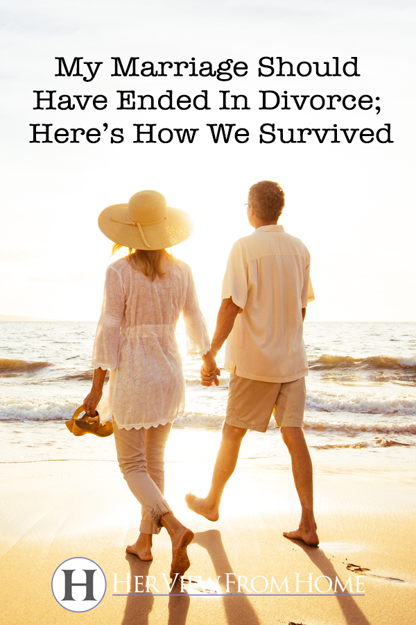 My Marriage Should Have Ended In Divorce; Here's How We Survived www.herviewfromhome.com #marriage #divorce #childloss