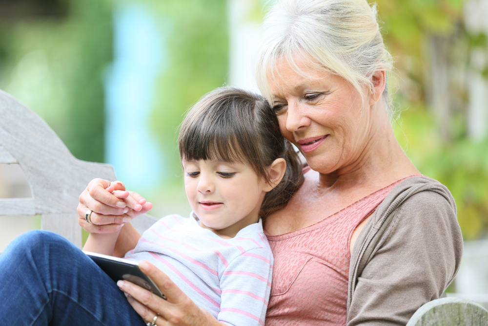 The Only Thing Better Than Having You As a Mom Is Watching You As a Grandma www.herviewfromhome.com