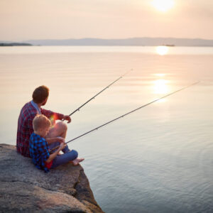 What If All It Takes To Change the World Is a Good Dad and a Fishing Pole?