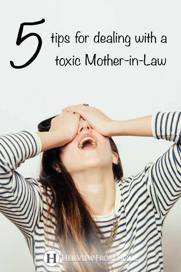 5 Tips For Dealing With a Toxic Mother-in-Law - Her View ...