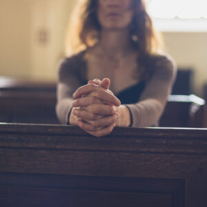 To the Married Mom Who Sits Alone In the Pew