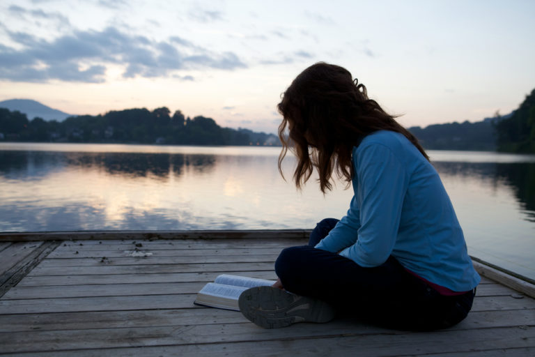 I Reluctantly Opened the Bible Looking For Comfort; God Opened My Heart Instead www.herviewfromhome.com