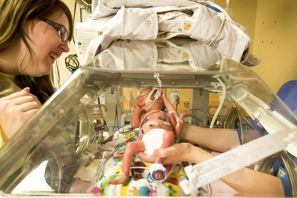 Dear NICU Mom, You Were Chosen To Be the Mother of a Miracle www.herviewfromhome.com