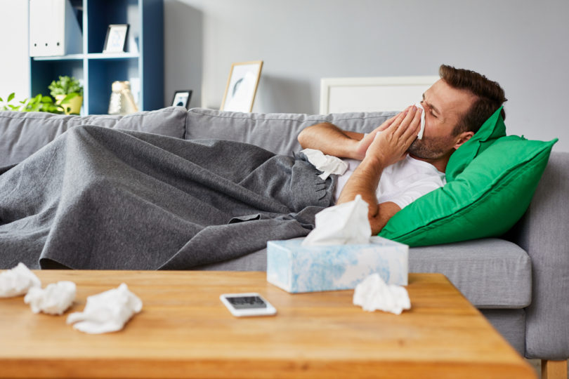 Welcome to the Dreaded Man Cold Season www.herviewfromhome.com