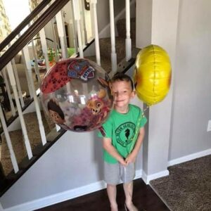 How Balloons are Helping One Little Boy Cope With His Mom's Cancer Diagnosis
