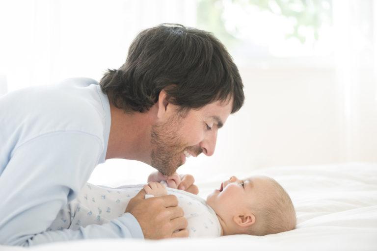 Dear Husband, Fatherhood Looks Good on You www.herviewfromhome.com