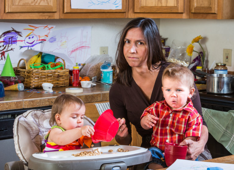 What I Learned From Being a Hot Mess Mom www.herviewfromhome.com