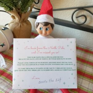 The Best Elf on the Shelf Idea Ever (Bonus: It Helps Declutter Toys, Too!)