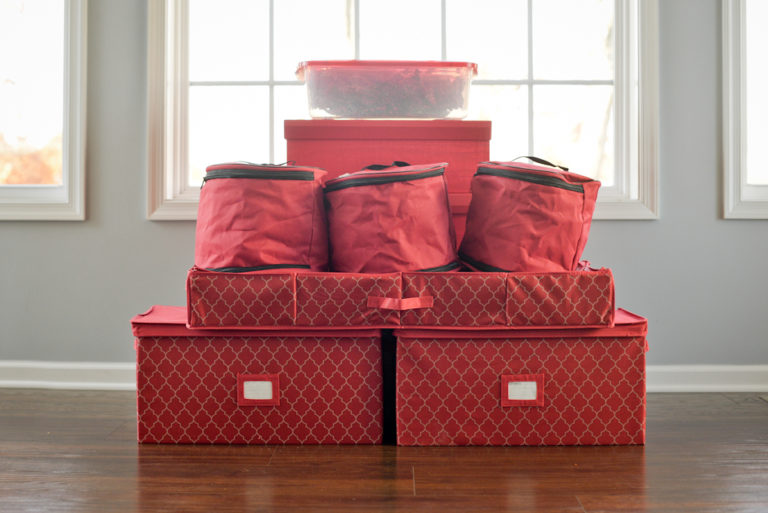 No More Tangled Lights or Broken Ornaments: The Container Store Offers Holiday Storage Solutions Every Family Needs www.herviewfromhome.com