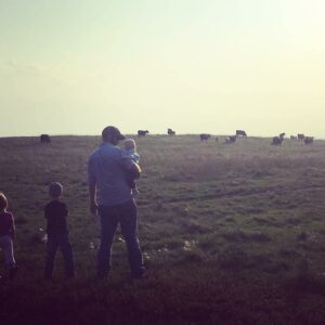 Farm Life is Our Life, and Daddy is Our Hero