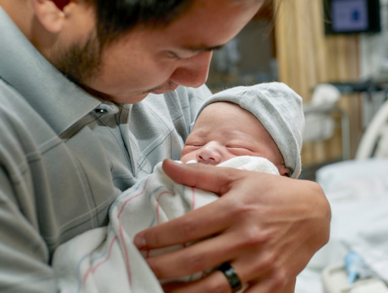 I Let My Husband Hold Our Babies First www.herviewfromhome.com
