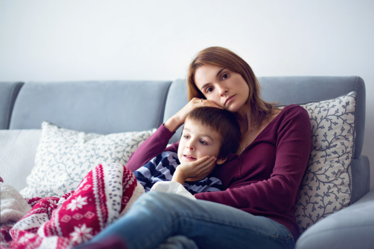 If My Kid is Too Sick for School or Daycare, Why Do I Feel So Guilty For Missing Work? www.herviewfromhome.com